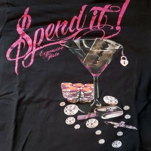 Women's Expensive Taste Fitted Tee Size S